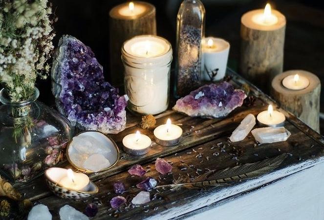 rituel purification cristaux